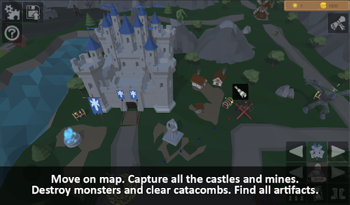 Warriors of medieval walls Tactical turn-based RPG apkdebit screenshots 2