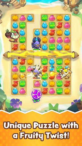 Matchfruit Monsters - Match Puzzle Adventure! screenshots 2