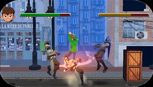 Ben vs Super Slime: Endless Arcade Action Fighting apklade screenshots 2