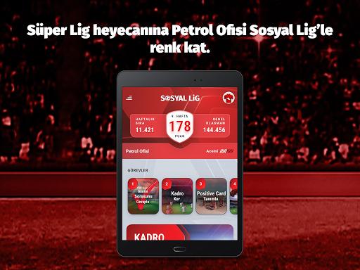 Petrol Ofisi Sosyal Lig apktram screenshots 23