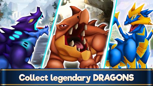 Dragon Paradise City: Breeding War Game  screenshots 1