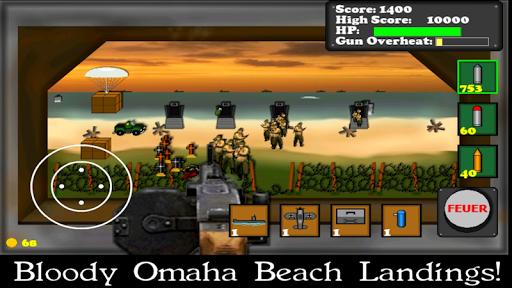 Télécharger Gratuit D-Day Gunner FREE APK MOD  (Astuce) screenshots 1