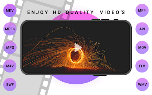 SAX VIDEO PLAYER – ALL FORMAT HD VIDEO PLAYER PLAY For Android 1