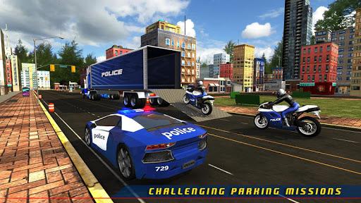 Police Plane Transporter Game  screenshots 1