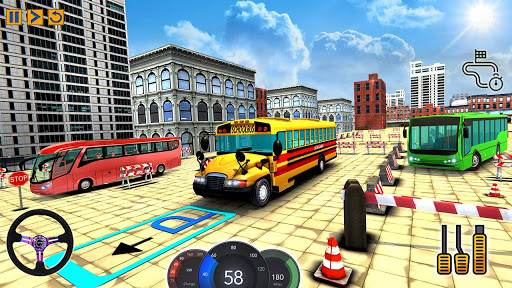 City School Bus Game 3D apkdebit screenshots 3