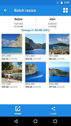 Photo & Picture Resizer: Resize, Downsize, Adjust 1.0.289 Screenshots 6