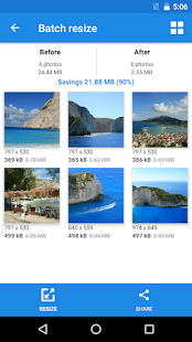 Photo & Picture Resizer: Resize, Downsize, Adjust Screenshot