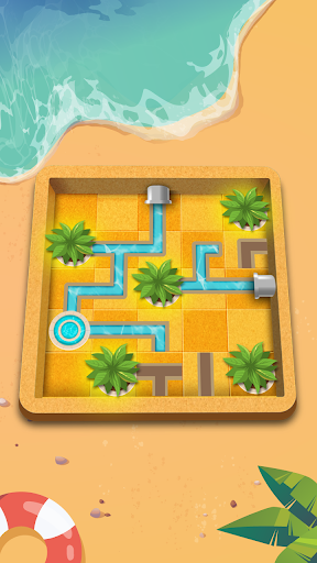Water Connect Puzzle - Logic Brain Game APK MOD Download 1