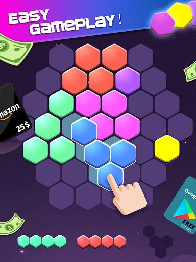 Lucky Hexa! u2013 Hexa Puzzle & Block Puzzle Big Win apkpoly screenshots 9
