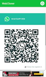 WhatsWeb Clonapp Messenger 1