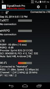 SignalCheck Pro 4.67 Apk 2