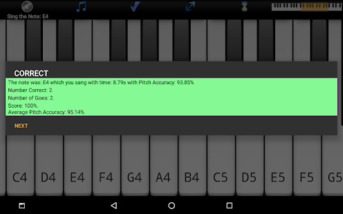 Voice Training Pro - Learn To Sing Screenshot