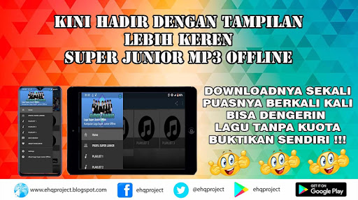 lagu super junior mp3 offline - best album screenshot 1