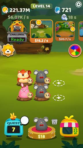 Merge Pet  - Animal Evolution 1.6.0 screenshots 1