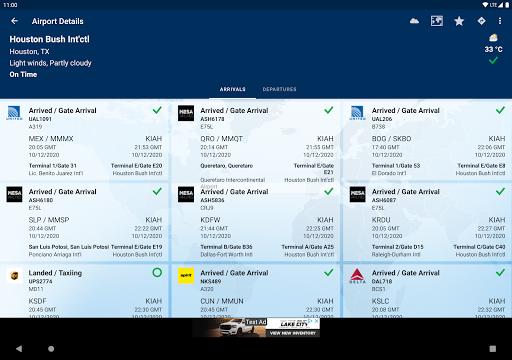 FlightAware Flight Tracker 5.6.6 Screenshots 11