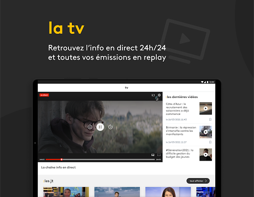 franceinfo : actualitu00e9s et info en direct 7.3.0 Screenshots 6