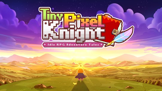 Tiny Pixel Knight – Idle RPG Adventure Tales Mod Apk 1.0.5 (Mod Gold Coins) 1