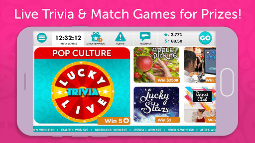 Lucky Trivia Live apkslow screenshots 2