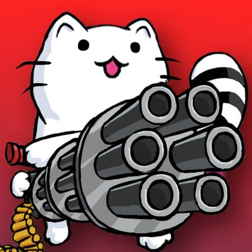 Cat Shooting War: Offline Mario Gunner TD Battles