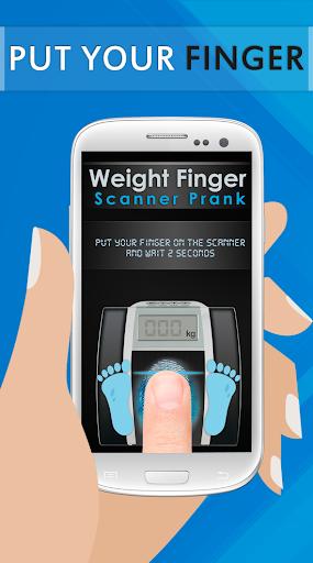 Weight Finger Scanner Prank 16.8.0 Screenshots 2