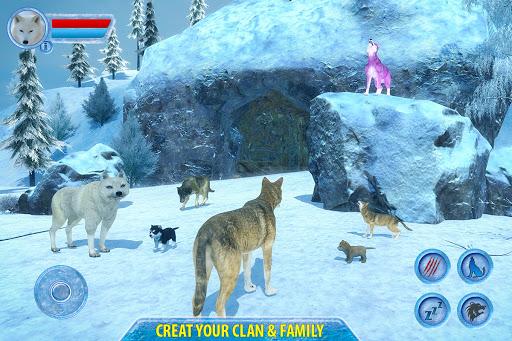 Arctic Wolf Sim 3D  screenshots 6