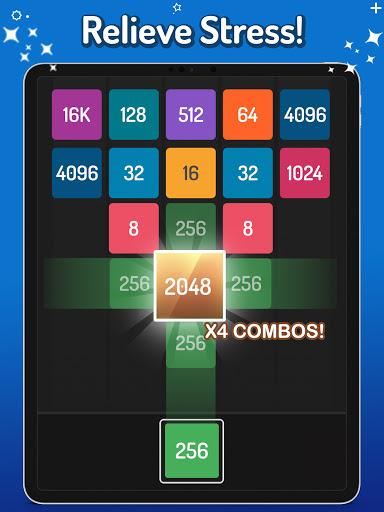 X2 Blocks u2013 2048 Merge Puzzle Game android2mod screenshots 11