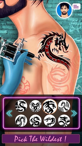 Ink Tattoo Master- Tattoo Drawing & Tattoo Maker 1.0.2 Screenshots 5
