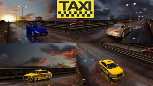 Real City Taxi Simulator 2021 : Taxi Drivers screenshots 12