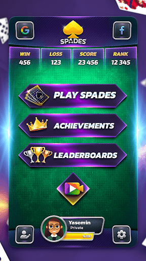 Spades  screenshots 4
