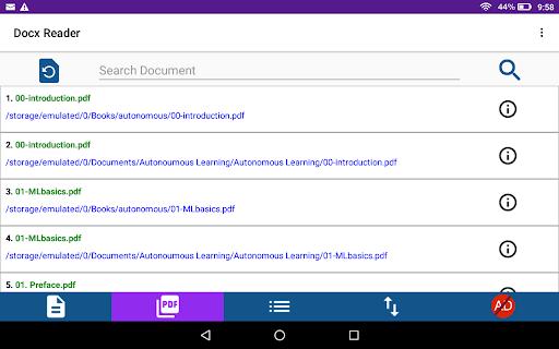 Docx Reader 4.7 Screenshots 9