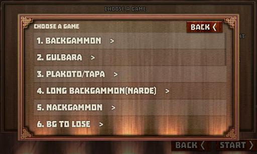 Backgammon Pack : 18 Games android2mod screenshots 9