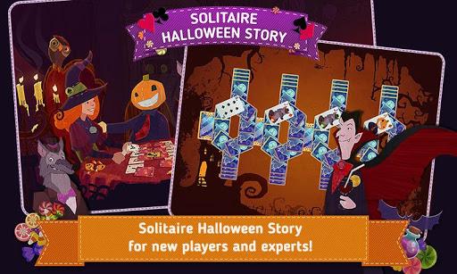 Solitaire Halloween Story modiapk screenshots 1