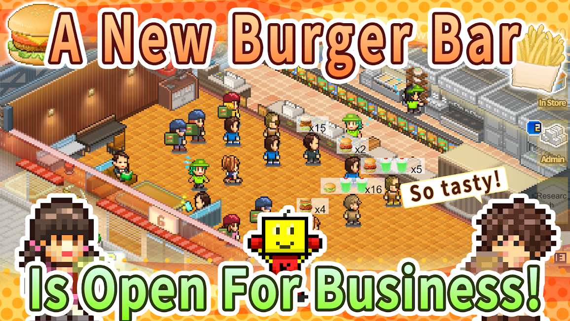 Burger Bistro Story APK 1.2.4 1