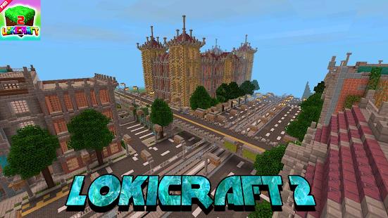 Lokicraft - Building And Crafting 2021 1.1 Screenshots 3