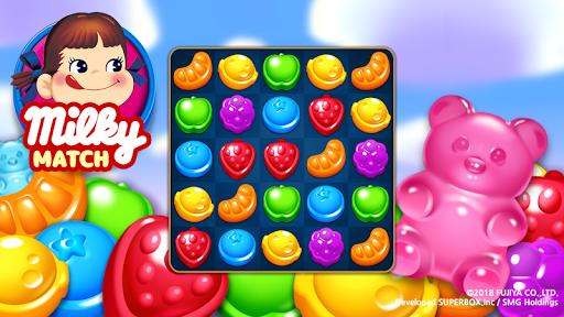 Milky Match : Peko Puzzle Game screenshots 3