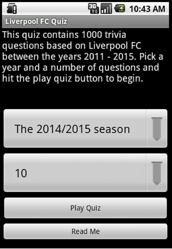 quiz about liverpool fc screenshot 1