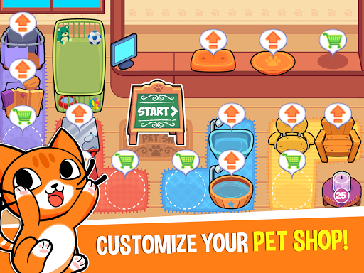 My Virtual Pet Shop: Take Care of Pets & Animalsud83dudc36 1.12.7 screenshots 7