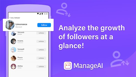 Follow Manager for Free   Manage AI Apk 5