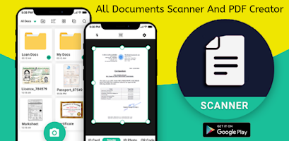 All Document Scanner And PDF Creator App 2020