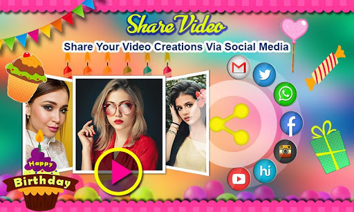 Birthday Video Maker with Song and Name 2021 android2mod screenshots 16