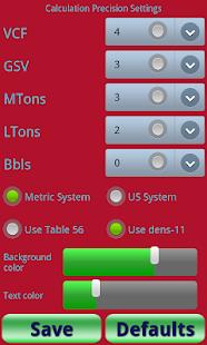 Calculator for oil enhanced