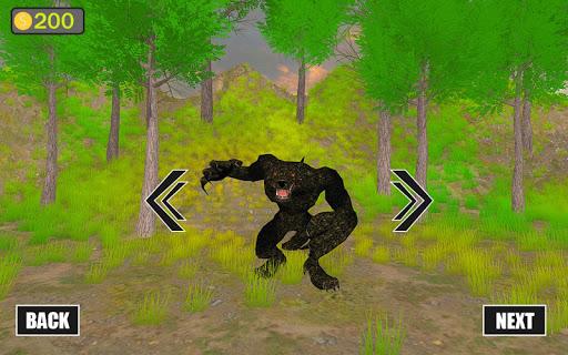jungle werewolf monster rpg -bigfoot forest hunter screenshots 5