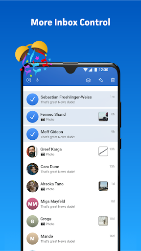 Messenger Home - SMS Widget and Home Screen android2mod screenshots 6
