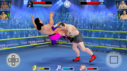 Tag Team Wrestling Games: Mega Cage Ring Fighting modavailable screenshots 4
