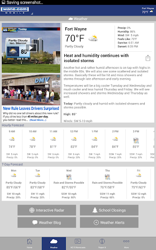 WANE 15 - News and Weather v4.35.4.5 screenshots 8