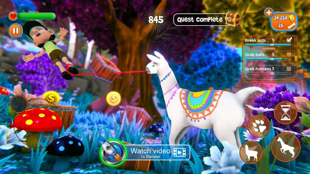 Llama Simulator