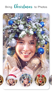 Christmas Photo Frames, Effects & Cards Art Screenshot