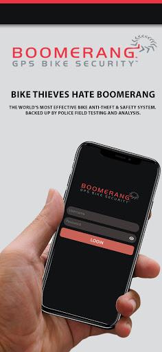 Boomerang GPS Bike Anti-Theft screenshot 1