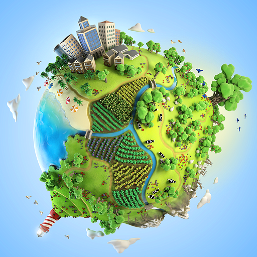 Pocket Build - Unlimited open-world building game