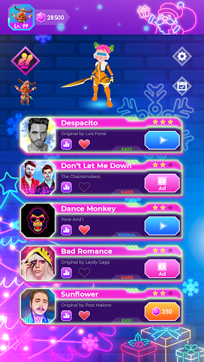 Beat Blader 3D: Dash and Slash! android2mod screenshots 1